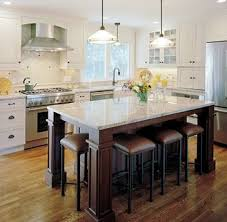 Kitchen Island Furniture With Seating Collection In Kitchen Islands With Seating And Large Throughout