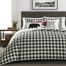 eddie bauer black friday sale eddie bauer black white mountain plaid comforter set free