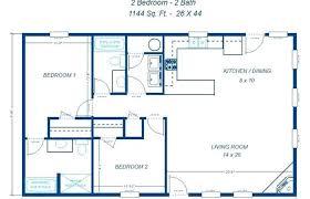 floor plan 2 bedroom bungalow 2 bedroom 2 bath floor plans bungalow house plans 2 bedroom floor