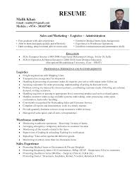 Sample Resume Objectives For Logistics by Principal Resume Objective Musidone Com