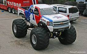 bigfoot monster truck steps direction chevy body