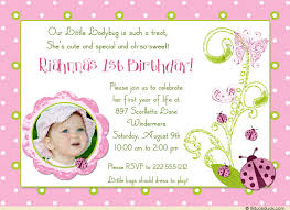 ladybug birthday invitations cute party butterflies photo