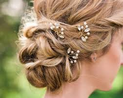 wedding hair wedding hair pins etsy