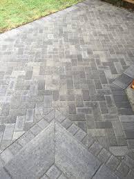 Herringbone Brick Patio Patios Hardscapes By Design