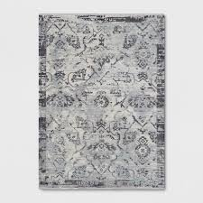Gray Area Rug 8 X 11 Large Ombre Blue And Gray Area Rug Geneva Rc Willey