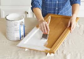 diy kitchen cabinet door painting must tips for painting kitchen cabinets better homes