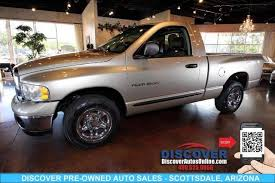 2005 dodge ram 1500 single cab 2005 dodge ram 1500 regular cab st scottsdale arizona