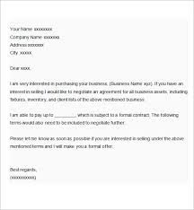 business proposal letter template free formats excel word