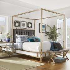 Gold Canopy Bed Gold Canopy Bed Frame Wayfair