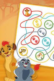 lion guard kion colouring disney junior uk