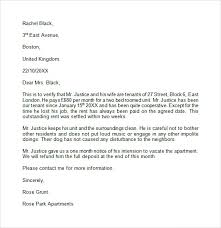 cover letter to landlord 28 images reference letter for