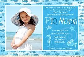 little mermaid photo birthday card ocean beach u0027s 5th