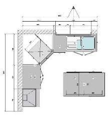 plan cuisine l plan cuisine en l beautiful plan de cuisine en granit avec cuve