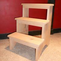 furniture wooden folding step stool with folding kitchen step