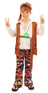 60s Halloween Costumes Hippy Kids Boys Girls Costume 1960s Hippie 60s 70s Childs Fancy