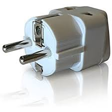amazon com ceptics grounded universal plug adapter for europe