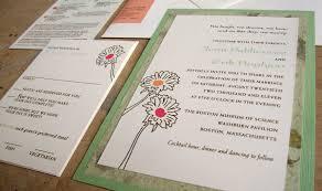 custom wedding invitation pocket on the back u2013 papercake designs