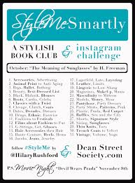 Challenge Meaning October Instagram Challenge Stylish Book Club Dean Society