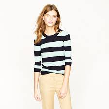 tippi sweater tippi sweater in stripe crewnecks j crew