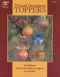 ravelry s attic 875547 thread ornament toppers patterns