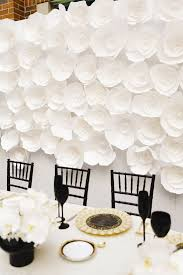 Gold Table Centerpieces by Black Gold And White Table Decor