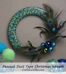 Peacock Feather Home Decor Peacock Feather Christmas Crafts Made With Duct Tape Yes Duct