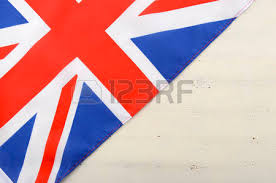 heart shape british union jack flag stock photo picture and