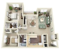 2 Bedroom Condo Floor Plan Small House 2 Bedroom Floor Plans 3d Condointeriordesign Com