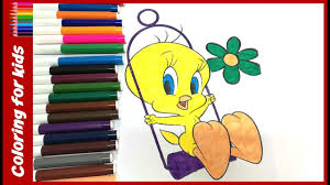 free coloring sheets kids color tweety bird coloring
