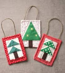 mini tree quilt ornament tutoial tree quilt