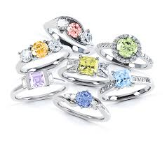 coloured engagement rings images Rainbow rings fancy coloured diamonds jpg