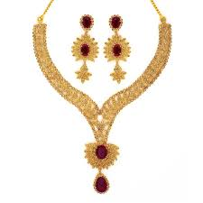 bridal gold set necklace grt jewellers