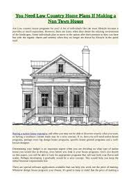 low country house plans you need low country home plans if making a non town house