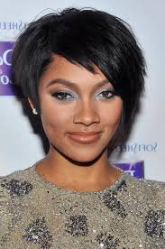 very short razor cut hairstyles african american short black razor cut from bria murphy styles