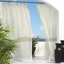 outdoor curtains you u0027ll love wayfair