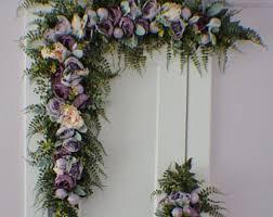 wedding arbor etsy arch flowers etsy