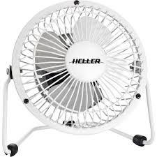 Desk Top Fans Heller Df40 40cm Oscillating Desk Fan White Desktop Fan Radio