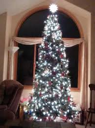 time pre lit 9 williams pine artificial tree