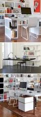 home office contemporary desk multi table with trestle base office interiors desks and
