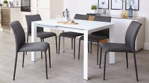 White Fabric Dining Chairs Fully Upholstered Stackable Fabric Dining Chairs Uk For Modern