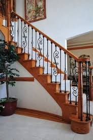 baluster staircase remodel custom stairs iron baluster