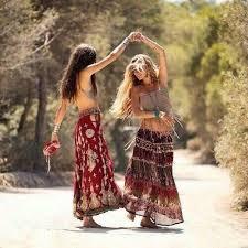 hippie style dancing hippie style travel bohemian vibe boho chic image