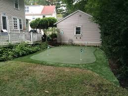 home putting greens backyard putting greens ma nh