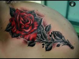 37 best rose tattoo designs for men images on pinterest arm work