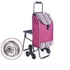 si e de pliable wei d panier d achat avec siège pliable avec la roue s élevante de 6