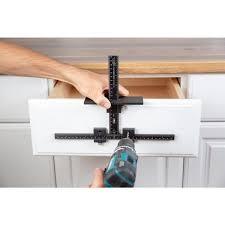 kitchen cabinet door hardware jig true position tools cabinet hardware jig for installation of