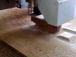 cnc machine making wooden door at faridabad ncr delhi by dsdoors
