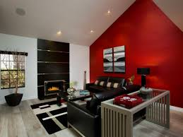 red wall living room red living room interior design ideas 8 100
