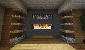 minecraft furniture fireplaces minecraft ideas pinterest