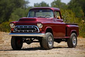 Classic Chevrolet Trucks Pictures - first drive legacy classic trucks 1957 chevy napco 4x4 conversion